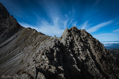 Rocky waves (Frdric Pactat) Tags: d 750 20 mm f 18 f18 nikon d750 afs ed nikkor fx 20mm f18g mountain sky clouds natural lines jalouvre grand bornand les alpes