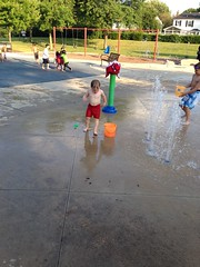 "Paul Playing at the Splash Pad • <a style=""font-size:0.8em;"" href=""http://www.flickr.com/photos/109120354@N07/30339159562/"" target=""_blank"">View on Flickr</a>"