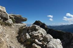 Pierre Avoi (bulbocode909) Tags: valais suisse saxon pierreavoi sentiers rochers montagnes nature nuages bleu paysages