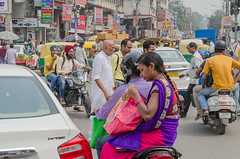 Delhi - DSC_0185 (John Hickey - fotosbyjohnh) Tags: 2016 holidays october2016 india delhi streetscape street tourism traveldepartment travel activity lifestyle nikon nikond5100 visitors