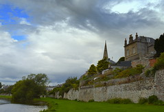 Riverside at Kelso (Tony Worrall) Tags: kelso scotland scottish north country place visit area county attraction open stream tour scots borders uk tourist town river buildings riverside walls scene scenic landscape