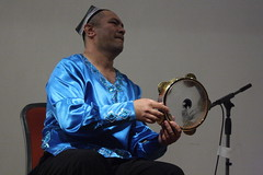 Abbos Kosimov (2016) 04 (KM's Live Music shots) Tags: worldmusic uzbekistan abboskosimov riq framedrum handpercussion drums soasconcertseries soas