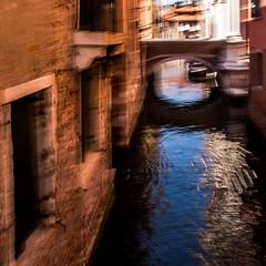 SAN ROCCO (zventure,) Tags: zventure petitcanal sanrocco eau extrieur couleurs aube venise venisesept2016 architecture fentre pont eglise bateaux ocre bleu