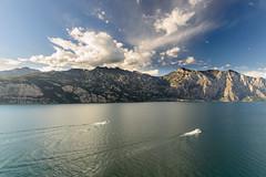 Lake Garda (George Bewsher) Tags: malcesine lakegarda lagodigarda italia europe summer october 2016 mountains lake nikon d610 italy
