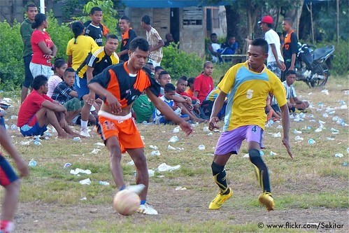 Sport competition of Alor regency, Baranusa, Pantar NTT Indonesia