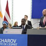 Awarding Sakharov Prize to Dr Mukwege thumbnail