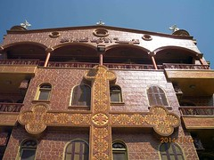 Church of St. Karas - St. Shenouda Monastery - Sohag Western Mount - By Amgad Ellia 13 (Amgad Ellia) Tags: church st by mount monastery western amgad karas ellia shenouda sohag