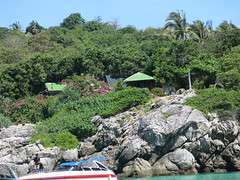 the bungalows of Raya Bay (ClemsonWendi) Tags: thailand rayaisland rochaisland