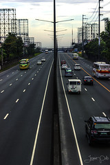 Road Warriors (jessieblurp) Tags: canon photography eos highway streetphotography cityscapes kitlens manila photooftheday 600d ishootwithcanon canoncaptures rebelt3i