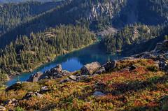 Rachel Lake (jhiker5) Tags: mountains landscape hiking lakes cascades washingtonstate rachellake alpinelakeswilderness johnalbert okanoganwenatcheenationalforest