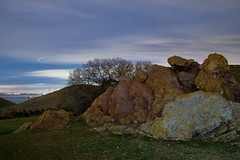 Moonlight on Coyote Hills (Steve Gumina Photography) Tags: california longexposure nightphotography moonlight sanfranciscobay nightphoto coyotehills nocturnes