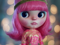 A Doll A Day. Dec 15. Sorbet For Christmas :)