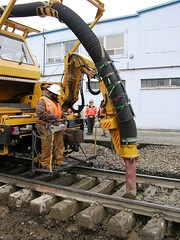 Loram Vac Train on BNSF (TrackWalker) Tags: railroad washington vacuum mow bellingham bnsf ballast whatcomcounty burlingtonnorthernsantafe loram maintenanceofway bellinghamsubdivision