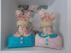 Pequeninos (Sonhos de Tecido) Tags: artesanato coelhos pascoa