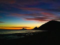 Coucher de soleil aux les Sanguinaires (JeanbaptisteM) Tags: sunset sea mer france color soleil december corse corsica coucher ciel paysage ajaccio iphone 2014 sanguinaires