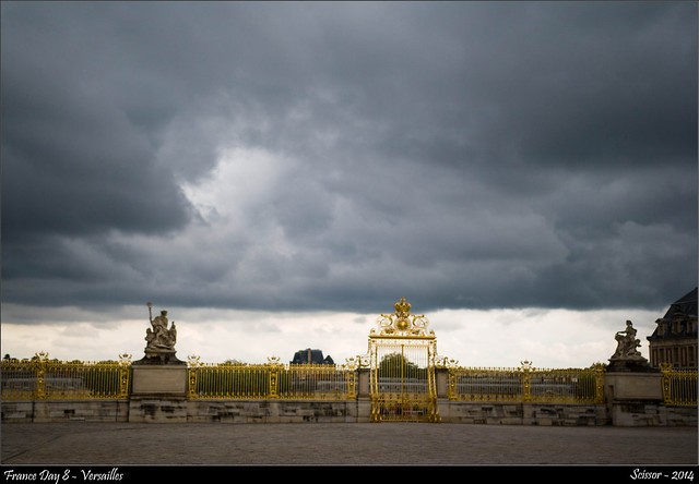 France Day 8 - Versailles