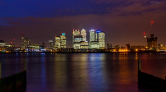Canary Wharf long exposure (Botond Buzas Photography) Tags: london major is long exposure district business wharf 1750 canary tamron d7000