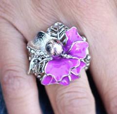 Glimpse of Malibu Purple Ring K2 K4161A-3