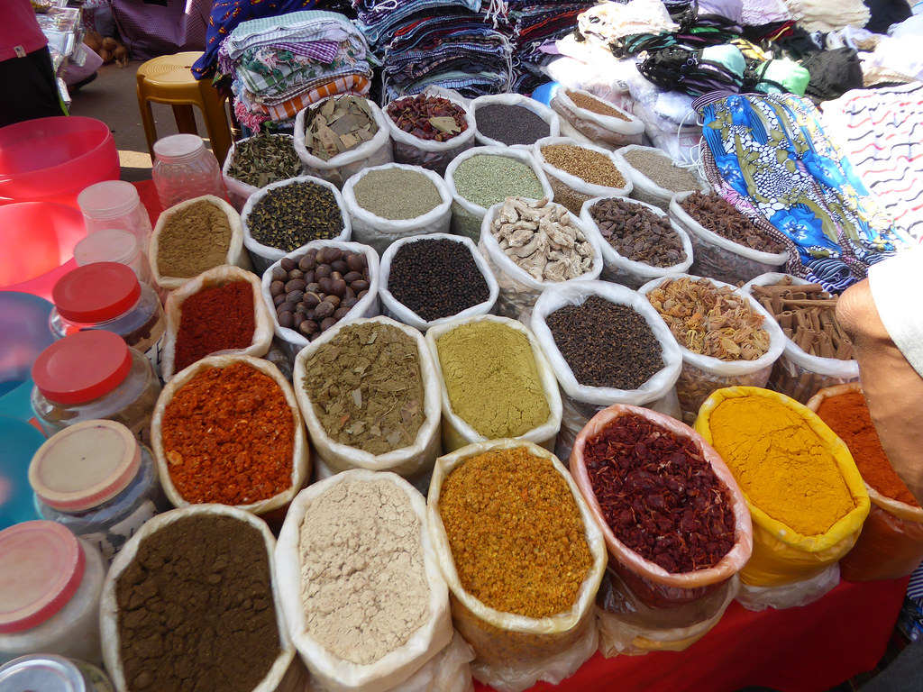 Spices, spices, spices...