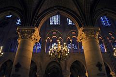 Eterno stupore (Celeste Messina) Tags: longexposure light paris pov notredame luce parigi cattedrale gotico vetrate lungaesposizione volte celestemessina