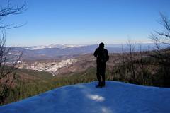 kilátó / viewpoint (debreczeniemoke) Tags: winter snow forest view viewpoint kilátó gutin hó tél erdő kilátás canonpowershotsx20is gutinhegység munţiigutin gutinmountains