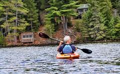 Going home (4thmedium) Tags: lake huntsville canoe kayaking algonquinpark peaceandquiet