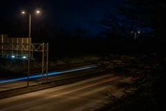 TimeSpacePerception (jmishefske) Tags: light wisconsin night perception nikon traffic freeway milwaukee february past 2015 d800e
