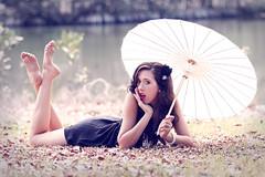 Stephanie - The Vintage Series (Rob Harris Photography) Tags: portrait woman girl beautiful beauty fashion female vintage model pretty dress creative makeup naturallight modelling