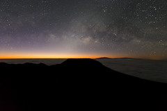 Haleakala Crater (JonFaulknor.com) Tags: ocean nature sunrise stars landscape outside outdoors hawaii maui haleakala crater astrophotography nightsky milkyway landsacpe