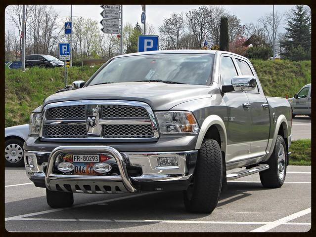 auto up car automobile 4x4 5 4 7 pickup automotive voiture american dodge hemi mopar pick ram wd 1500 litre wagen pkw pritsche worldcars