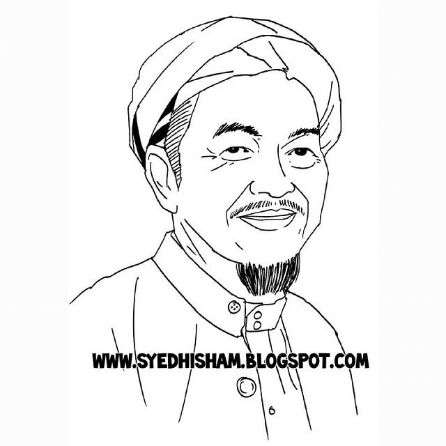 Allahyarham Tok Guru Nik Abdul Aziz #Innalillah #Al-Fatihah