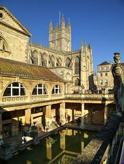 Roman Baths (Vale Boy) Tags: light abbey canon bath roman bad baths bathabbey valeboy cliverees