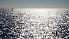 Big Island Sunset (kent.c) Tags: ocean sunset sea usa sailboat canon hawaii us sailing sail hi 2008 paddleboarding 092008 kentc kentcphotography standingpaddle