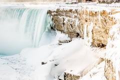 Niagara Falls Frozen Over (Naturally in Niagara) Tags: winter cold tourism ice niagarafalls frozen waterfall freezing tourist niagara niagra polarvortex