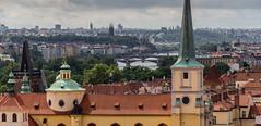 Czech Republic - Prague view from the Castle (Marcial Bernabeu) Tags: republica republic czech prague praha praga czechrepublic bernabeu checa marcial republicacheca bernabu chequia 2013