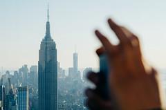 Top of the Rock NYC Shoot (Jon Grado) Tags: nyc sunset ny newyork skyline site centralpark manhattan empirestatebuilding empirestate topoftherock 30rock toprock