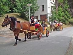 Carriage Rides (Amrico Aperta) Tags: horse town europa europe carriage eu tourists vila slovenia bled slovenija jpeg leste cavalo slo easterneurope ue turistas eslovnia europadeleste charrete fujifilmfinepixs602zoom carriagerides europacentral lesteeuropeu centralandeasterneurope dscf0294 amricoaperta passeiosdecharrete