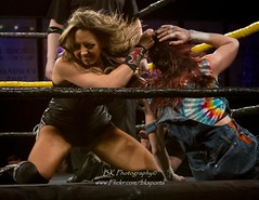 Cherry Bomb, Leva Bates (bkrieger02) Tags: wrestling wsu squaredcircle divas tlc knockouts 8thanniversary womenswrestling professionalwrestling womenssuperstarsuncensored wsu8thanniversary prowreslting tlcmatch