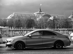 Mercedes CLA 45 AMG Paris (LoickJouaud) Tags: paris car mercedes grand voiture 45 palais amg cla worldcars
