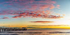 Henley Sunset (Nathan Godwin) Tags: sunset sunsetphotography sunsetporn sunsetseascape australiansunset sunsets ade adelaide adelaidephotographer adelaidebeaches southaustralia southaustralianbeaches nikon d800 seascape beachscape
