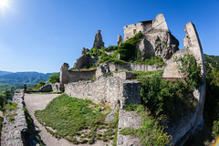 Ruin Drnstein (Antti Tassberg) Tags: 15mm castle drnstein fisheye prime raunio ruin site travel unesco wachau worldheritage niedersterreich austria