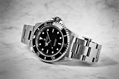 Rolex Submariner (Discontinued) (J Redfern) Tags: rolex submariner wristwatch watch blackwhite bw mono time timepiece divers 14060m monochrome