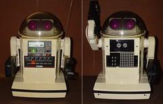 A Tale of Two Omnibots (wcrpaul) Tags: arduino uno robot omnibot sensor controller microcontroller electronics enhanced robotbrain retrorobot paulbackhouse led ledmatrix tomy ultrasonic infrared droid switch toggleswitch ledpanel technology