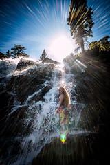 20160625-Sun Falls --8 (napaeye) Tags: lake tahoe napaeye laketahoe waterfalls fallenleaflake lillylake california ca women hairflip
