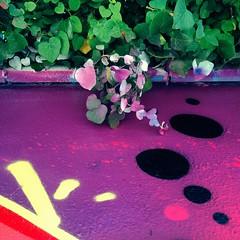 Mimesis. (annaeme) Tags: mimesis graffiti wallart spray leaf