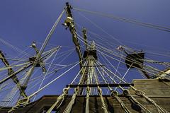 El Galeon Andalucia rigging (TAC.Photography) Tags: rope tallship tallships rigging galleon spanishgalleon