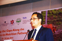 Mr. Madhu Kumar Marasini, Joint-Secretary NPC by