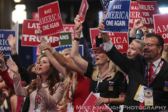 Delegates having a great time - 2016 Republican National Convention in Cleveland, OH #RNCinCLE (mikelynaugh) Tags: rncincle republicannationalconvention rnc republican trump convention cleveland americafirst makeamericagreatagain politics politicalrally ohio trump2016 delegates presidenttrump presidentdonaldtrump presidentdonaldjtrump presidentdonaldjohntrump president presidentoftheunitedstates unitedstates usa