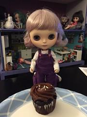 218/366 - Mmmm...cupcake.