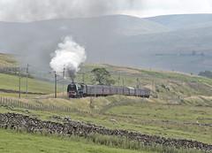 46233 Approaches Salterwath 23-07-16 (prof@worthvalley) Tags: all types transport steam locomotive railway railroad uk 46233 duchess sutherland shap